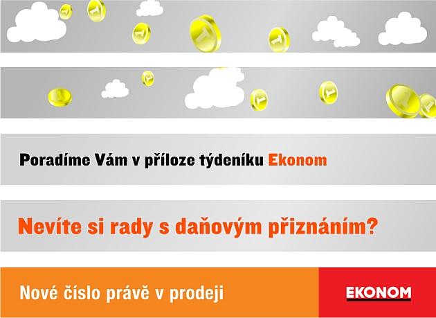 """Bannerová kampaň """"Ekonom"""""""