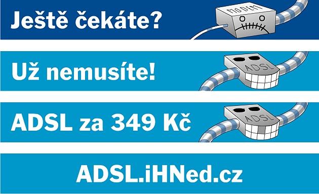 """Bannerová kampaň """"ADSL"""""""