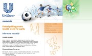 Fotbalová microsite